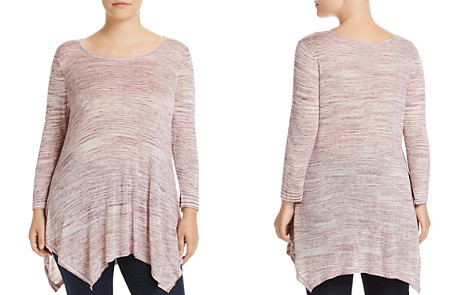 B Collection by Bobeau Curvy Langley Space-Dye Sweater - Bloomingdale's_2