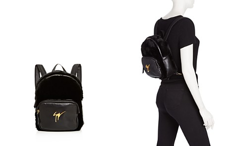 Giuseppe Zanotti Faux-Fur Backpack - 100% Exclusive - Bloomingdale's_2