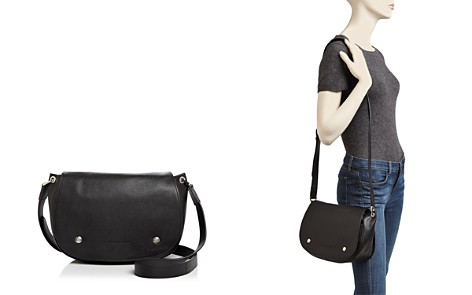 Longchamp Le Foulonne Leather Saddle Bag - Bloomingdale's_2