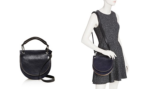 Marni Color Block Leather and Suede Saddle Bag - Bloomingdale's_2