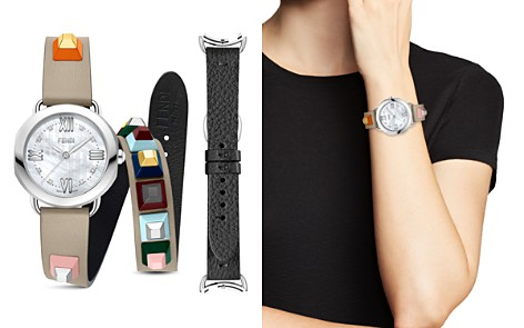 Fendi Selleria Watch with Interchangeable Straps, 36mm - Bloomingdale's_2
