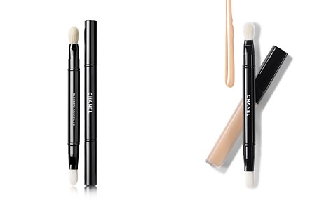 CHANEL LES PINCEAUX DE CHANEL Retractable Dual-Tip Concealer Brush - Bloomingdale's_2