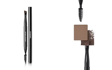 CHANEL LES PINCEAUX DE CHANEL Retractable Dual-Tip Brow Brush - Bloomingdale's_2