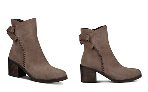 UGG® Women's Fraise Suede Whipstitched Block Heel Booties - Bloomingdale's_2