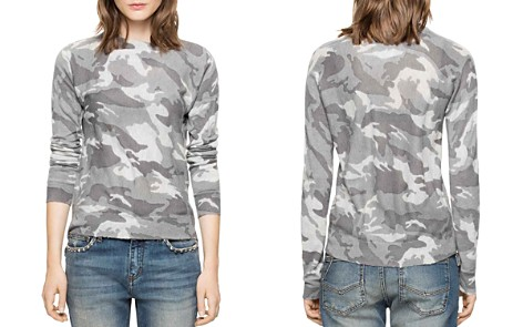 Zadig & Voltaire Crisp Camou Cashmere Sweater - Bloomingdale's_2