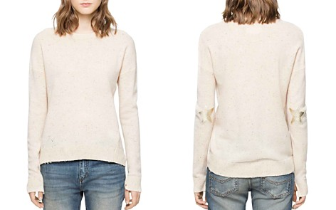 Zadig & Voltaire Cici Patch Cashmere Sweater - Bloomingdale's_2