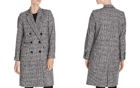 The Kooples Mark Graphic Houndstooth-Style Coat - Bloomingdale's_2