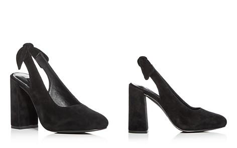 SENSO Women's Xeno Suede Block Heel Slingback Pumps - Bloomingdale's_2