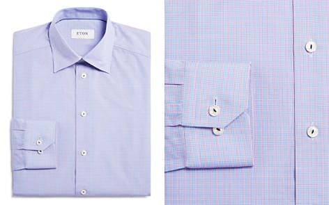 Eton Grid Check Regular Fit Dress Shirt - Bloomingdale's_2