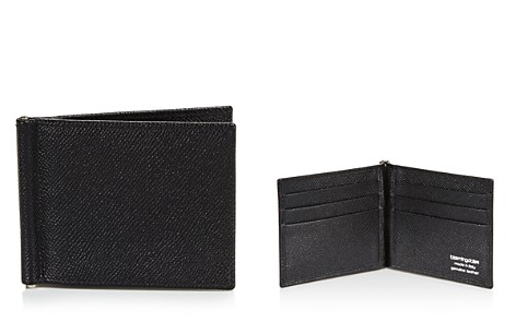 The Men's Store at Bloomingdale's Leather Wallet with Money Clip - 100% Exclusive_2