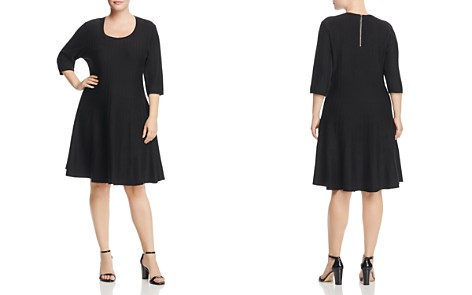NIC and ZOE Plus Twirl Ribbed Sweater Dress - Bloomingdale's_2