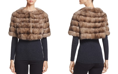 Maximilian Furs Sable Fur Bolero - 100% Exclusive - Bloomingdale's_2