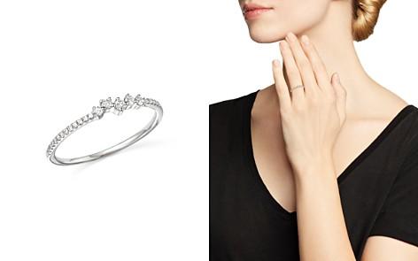 KC Designs 14K White Gold Mosaic Diamond Stacking Ring - Bloomingdale's_2