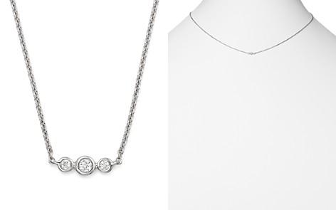 "KC Designs 14K White Gold Triple Diamond Necklace, 16"" - Bloomingdale's_2"