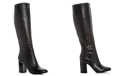 Kenneth Cole Women's Clarissa Leather High Block Heel Boots - Bloomingdale's_2