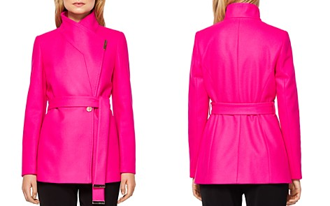 Ted Baker Keyla Short Wrap Coat - Bloomingdale's_2