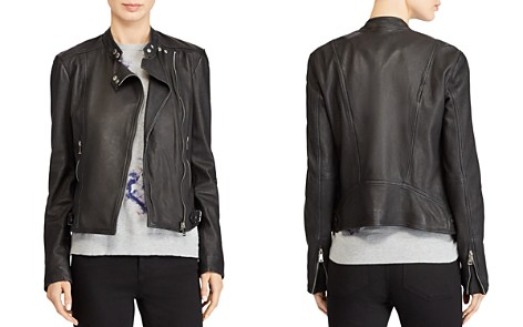 Lauren Ralph Lauren Leather Moto Jacket - Bloomingdale's_2