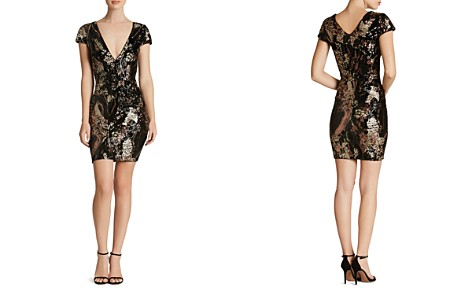 Dress the Population Zoe Sequin Dress - Bloomingdale's_2