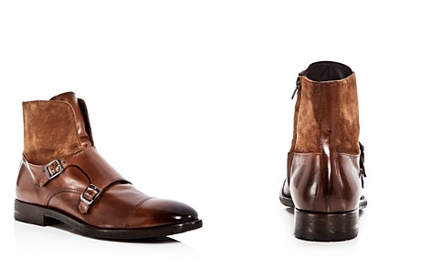 To Boot New York Men's Broome Leather & Suede Monkstrap Boots - Bloomingdale's_2