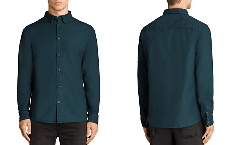 ALLSAINTS Huntingdon Slim Fit Button-Down Shirt - Bloomingdale's_2