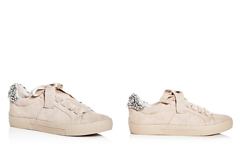 Joie Women's Darena Embellished Suede Lace Up Sneakers - Bloomingdale's_2