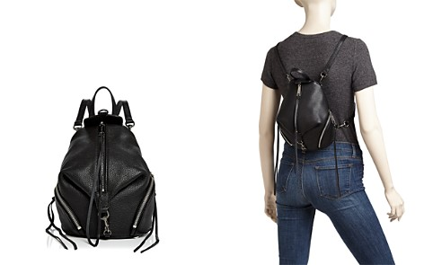 Rebecca Minkoff Julian Convertible Mini Leather Backpack - Bloomingdale's_2