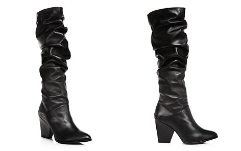 Stuart Weitzman Women's Smashing Leather Scrunched Leather Tall Boots - Bloomingdale's_2
