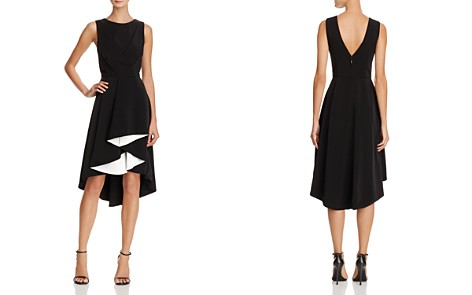 Adelyn Rae Harla Contrast Ruffle Midi Dress - Bloomingdale's_2