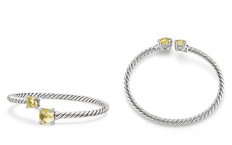 David Yurman Châtelaine Bypass Bracelet with Lemon Citrine & Diamonds - Bloomingdale's_2