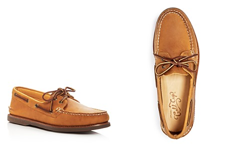 Sperry Men's Gold Authentic Original Two Eye Leather Boat Shoes - Bloomingdale's_2