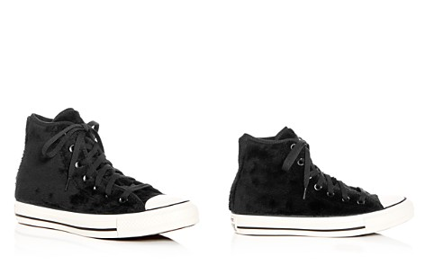 Converse Women's Chuck Taylor All Star Faux-Fur High Top Sneakers - Bloomingdale's_2