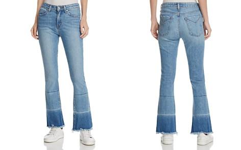 Derek Lam 10 Crosby Jane Mid-Rise Flip-Flop Jeans in Light Wash - Bloomingdale's_2