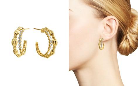 Gumuchian 18K Yellow Gold Nutmeg Diamond Double Hoop Earrings - Bloomingdale's_2