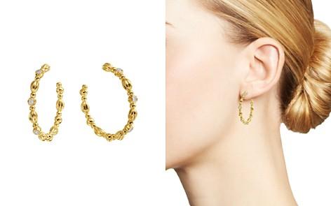 Gumuchian 18K Yellow Gold Nutmeg Diamond Hoop Earrings - Bloomingdale's_2