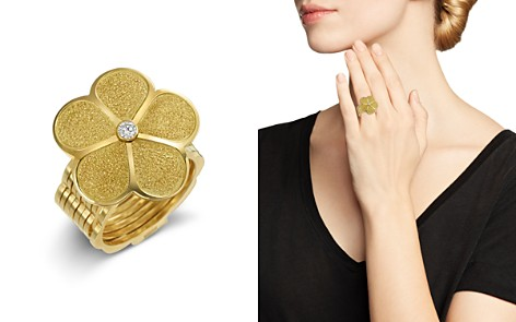 Gumuchian 18K Yellow Gold Large G Boutique Diamond Daisy Convertible Ring & Bracelet - Bloomingdale's_2