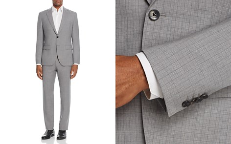 BOSS Johnstons/Lenon Regular Fit Micro Check Suit - Bloomingdale's_2