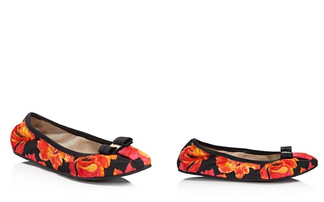 Salvatore Ferragamo Women's Floral Print Ballet Flats - Bloomingdale's_2