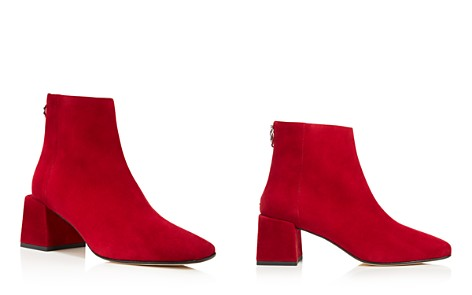 Via Spiga Women's Lara Suede Booties - 100% Exclusive - Bloomingdale's_2