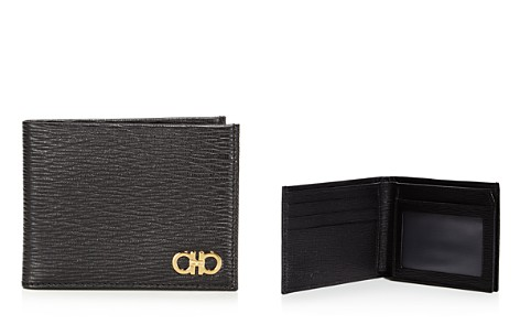 Salvatore Ferragamo Gold Gancini Revival Wallet - Bloomingdale's_2