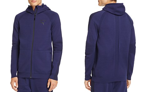 PUMA evoKnit Zip Hooded Sweatshirt - Bloomingdale's_2