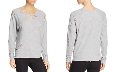 IRO.JEANS Uprile Destroyed Sweatshirt - Bloomingdale's_2