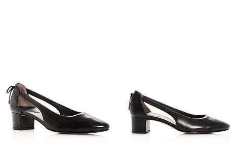 Paul Green Women's Paulina Leather d'Orsay Block Heel Pumps - Bloomingdale's_2