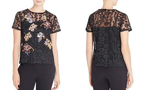 CATHERINE Catherine Malandrino Nico Embroidered Top - Bloomingdale's_2