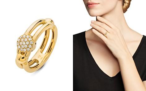 Hulchi Belluni 18K Yellow Gold Tresore Diamond Single Ring - Bloomingdale's_2