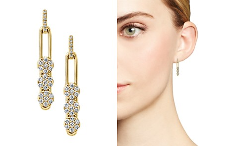 Hulchi Belluni 18K Yellow Gold Tresore Diamond Trio Linear Drop Earrings - Bloomingdale's_2