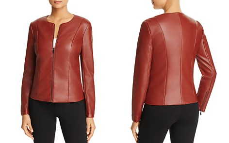Bagatelle Faux Leather Jacket - 100% Exclusive - Bloomingdale's_2