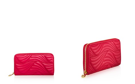 Salvatore Ferragamo Zip Wave Quilted Leather Wallet - Bloomingdale's_2