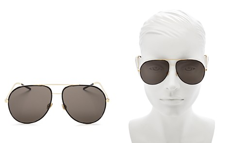 Dior Astral Aviator Sunglasses, 59mm - Bloomingdale's_2