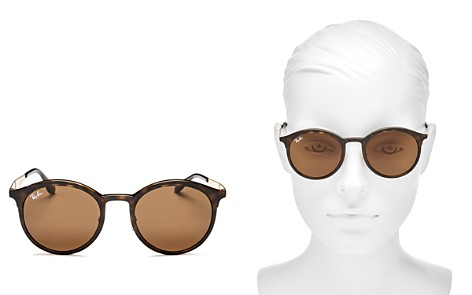 Ray-Ban Round Sunglasses, 51mm - Bloomingdale's_2