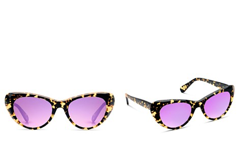 Krewe Women's Irma Mirrored Cat Eye Sunglasses, 51mm - Bloomingdale's_2